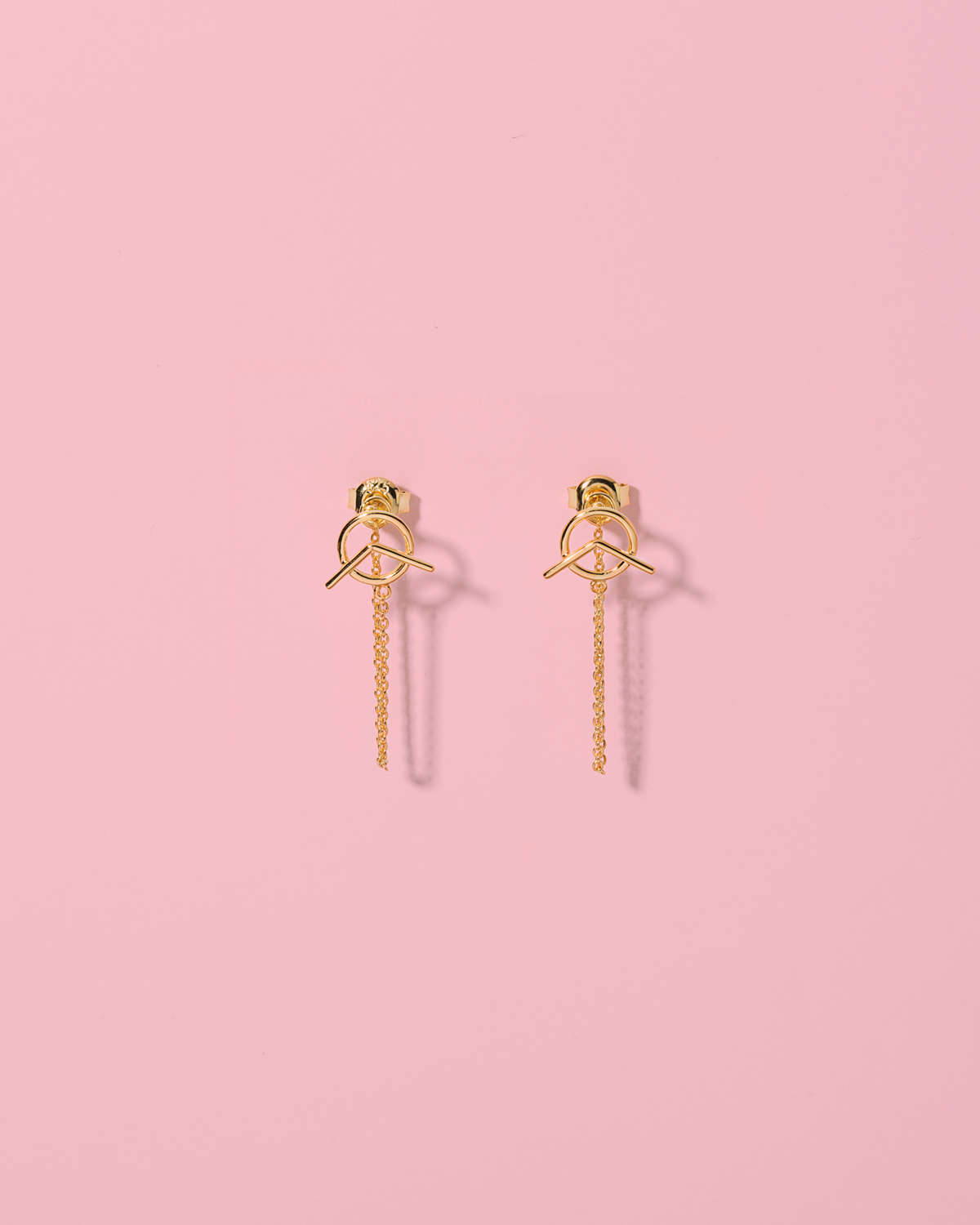 Spice up your life <br>gold-plated studs