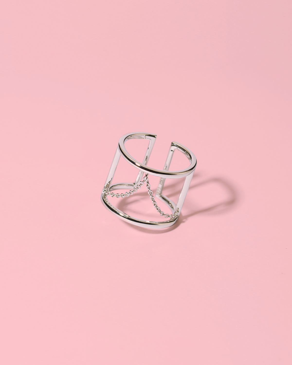Romance revolution <br>silver chain ring